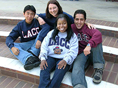 Los Angeles City College students