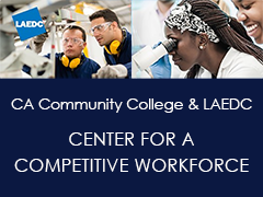 California Community Colleges and LAEDC Launch Center for a Competitive Workforce
