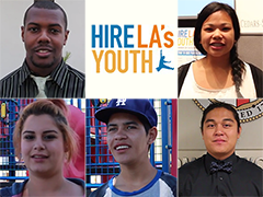 2014 Hire LA's Youth Participants