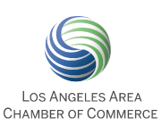 Los Angeles Area Chamber of Commerce logo and website link