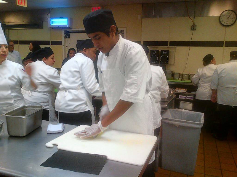 HTA class in action, Eric Rendon