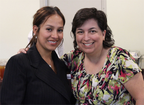 Maria Frias and Karen Fies, South Bay WIB